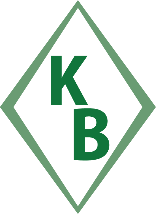 Kelley Bros. Diamond Logo Mark Green