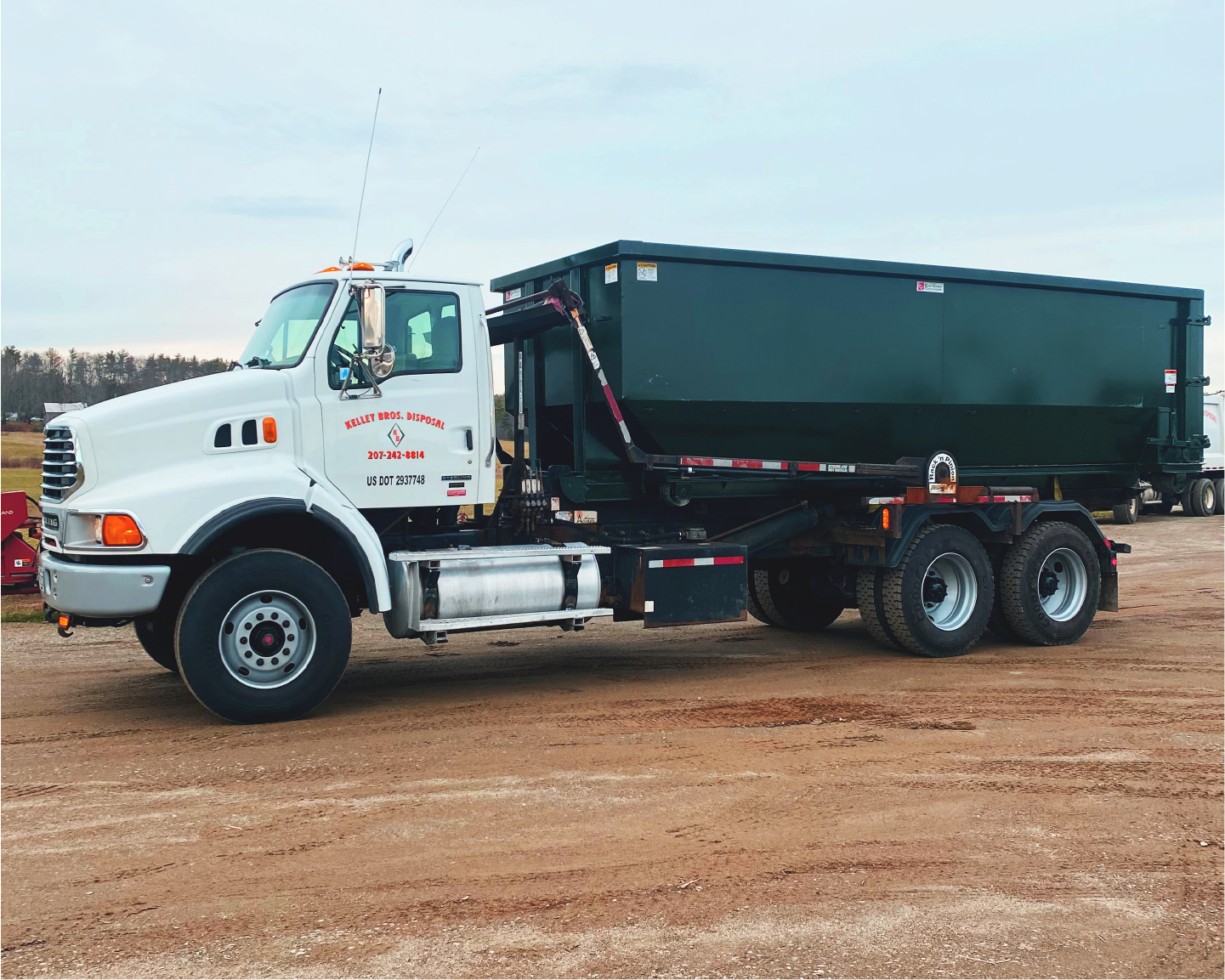 Kelley Bros. Disposal Truck & Dumpster